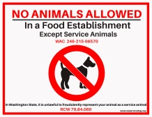 WSSDA No Animals Signage.jpg